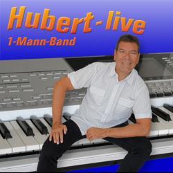 1-Mann-Partyband Hubert-live