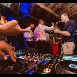 Sax & the DJ // Event-Saxophonist und DJ