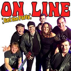 ON LINE Coverband