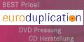DVD Pressung Euroduplication auf track4.de