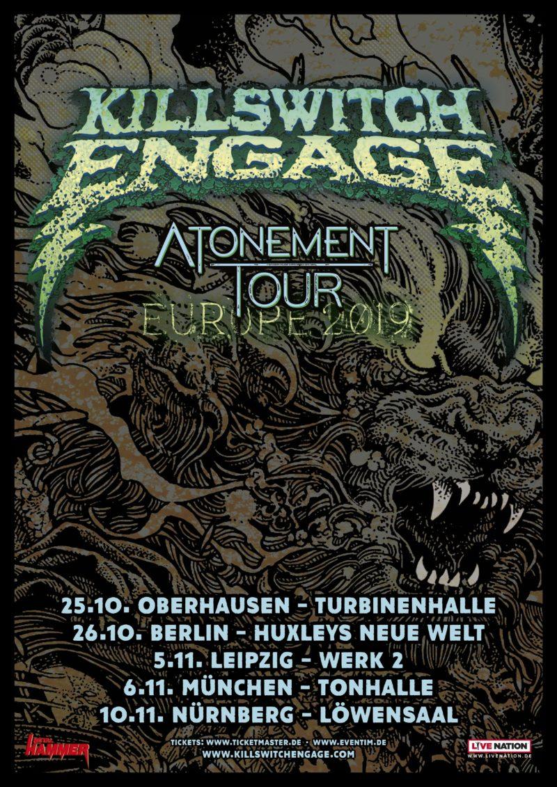 KILLSWITCH ENGAGE: auf Tour in Deutschland