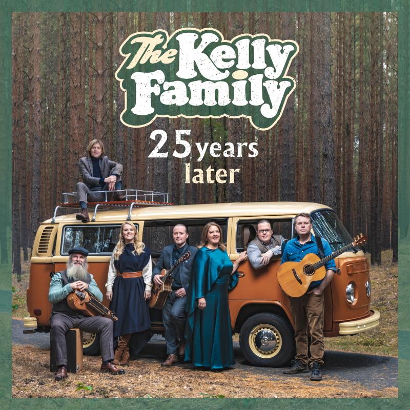 """The Kelly Family veröffentlichen ihr neues Album """"25 Years Later"""""""