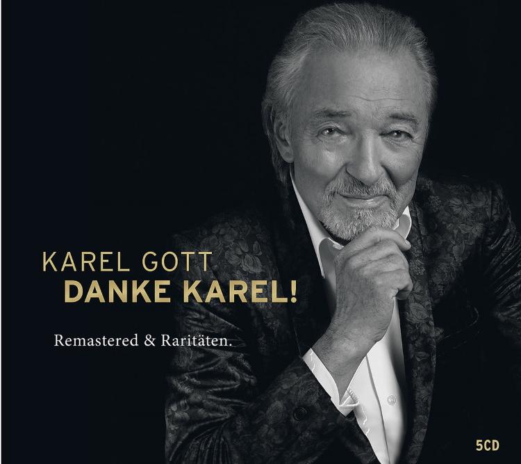 """""""Danke, Karel!"""" – Das wundervolle Album mit den größten Hits (remastered) von Karel Gott erscheint am Freitag"""