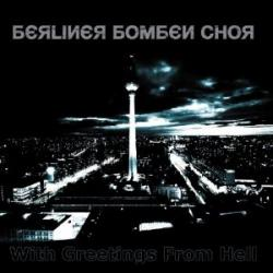 """Cover der CD """"With Greetings from Hell""""; der Band """"Berliner Bombenchor"""""""