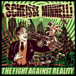 "Cover der CD ""The fight against reality""; der Band ""Scheisse Minelli"""
