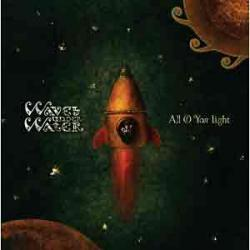 "Cover der CD ""All Of Your Light""; der Band ""Waves Under Water"""
