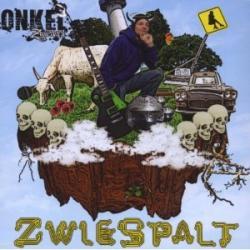 """Cover der CD """"Zwiespalt""""; der Band """"Onkel Zwieback"""""""