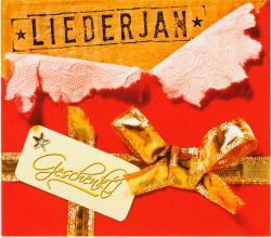 "Cover der CD ""Geschenkt!""; der Band ""Liederjan"""