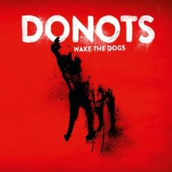 "Cover der CD ""wake the dogs""; der Band ""Donots"""