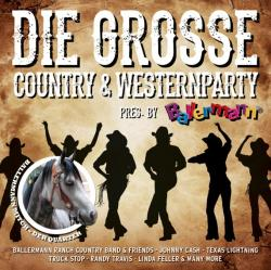 """Cover der CD """"Die grosse Country & Westernparty pres. by Ballerm""""; der Band """"Diverse"""""""