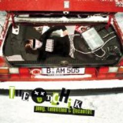 "Cover der CD ""Jung, talentlos & gecastet""; der Band ""The Toten Crackhuren im Kofferraum (TCHIK)"""