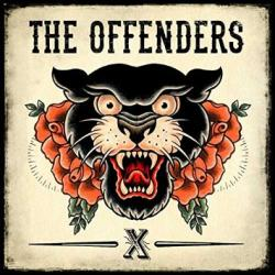 "Cover der CD ""X""; der Band ""The Offenders"""
