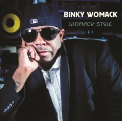 "Cover der CD ""Womack Style""; der Band ""Binky Womack"""