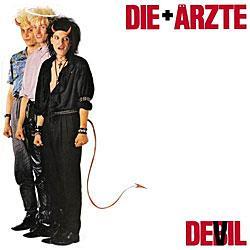 """Cover der CD """"Devil""""; der Band """"Die Ärzte"""""""