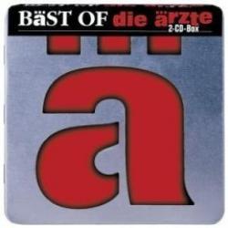 """Cover der CD """"Bäst of""""; der Band """"Die Ärzte"""""""