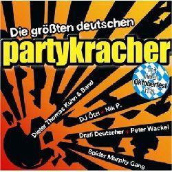 """Cover der CD """"Die größten deutschen Partykracher""""; der Band """"Partyalarm"""""""