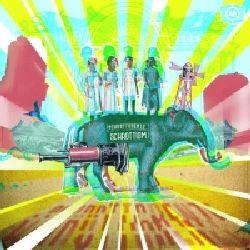 """Cover der CD """"Schrottism""""; der Band """"Schrottgrenze"""""""