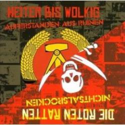 """Cover der CD """"Auferstanden aus Ruinen-Nichts""""; der Band """"Heiter Bis Wolkig"""""""