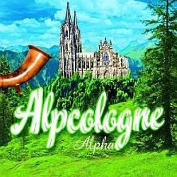 """Cover der CD """"Alpha""""; der Band """"Alpcologne"""""""