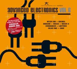 "Cover der CD ""Advanced Electronics 6""; der Band ""Various"""