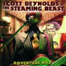 "Cover der CD ""Adventure Boy""; der Band ""Scott Reynolds & The Steaming Beast"""