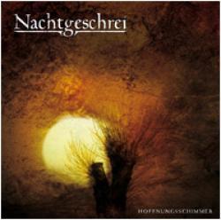 """Cover der CD """"Hoffnungsschimmer""""; der Band """"Nachtgeschrei"""""""