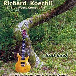 "Cover der CD ""Laid-Back""; der Band ""Richard Koechli"""
