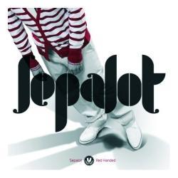 """Cover der CD """"Red Handed""""; der Band """"Sepalot"""""""
