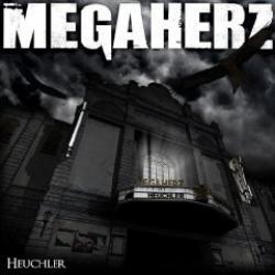 "Cover der CD ""Heuchler""; der Band ""MEGAHERZ"""