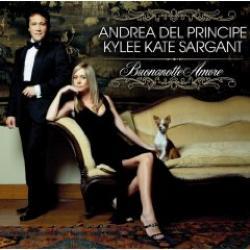 """Cover der CD """"Buonanotte Amore""""; der Band """"Andrea del Principe & Kylee Kate Sargant"""""""