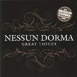 "Cover der CD ""Nessun Dorma""; der Band ""Various"""