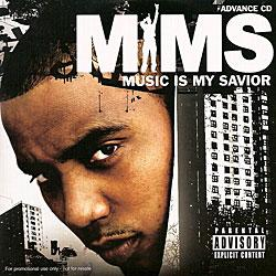 "Cover der CD ""Music is my Savior""; der Band ""MIMS"""