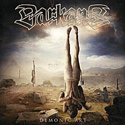 "Cover der CD ""Demonic Art""; der Band ""Darkane"""