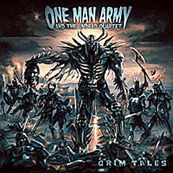 "Cover der CD ""Grim Tales""; der Band ""ONE MAN ARMY & THE UNDEAD QUARTET"""