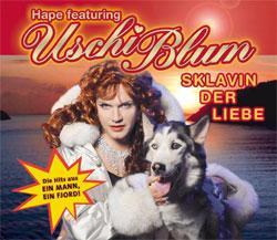 """Cover der CD """"Sklavin der Liebe""""; der Band """"HAPE featuring USCHI BLUM"""""""