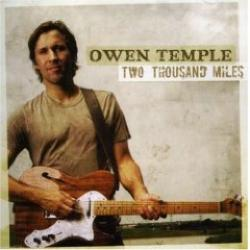 """Cover der CD """"Two Thousand Miles""""; der Band """"Owen Temple"""""""