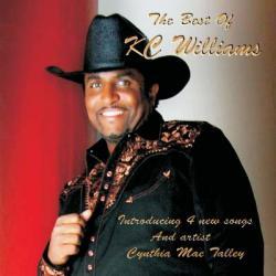 "Cover der CD ""The Best Of K.C. Williams""; der Band ""K.C. Williams"""