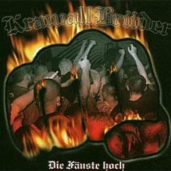"""Cover der CD """"Die Fäuste Hoch""""; der Band """"Krawallbrüder"""""""