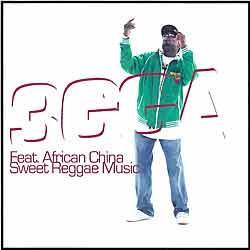 "Cover der CD ""Sweet Reggae Music""; der Band ""3gga feat. African China"""