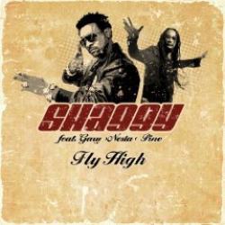 """Cover der CD """"Fly High""""; der Band """"SHAGGY feat. Gary Nesta Pine"""""""