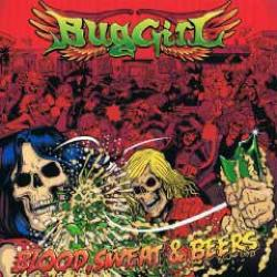 "Cover der CD ""Blood,Sweat & Beers""; der Band ""Bug Girl"""