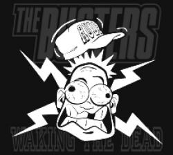 """Cover der CD """"Waking the Dead""""; der Band """"The Busters"""""""