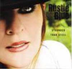"Cover der CD ""Stronger Than Steel""; der Band ""Rustie Blue"""