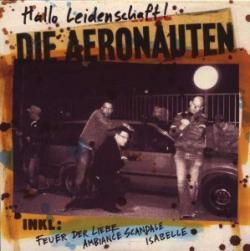 """Cover der CD """"Hallo Leidenschaft""""; der Band """"Die Aeronauten"""""""