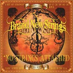 "Cover der CD ""No Strings Attached""; der Band ""Brand New Strings"""
