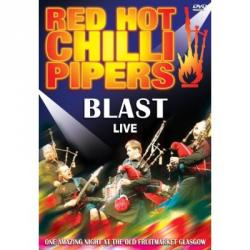 "Cover der CD ""Blast live""; der Band ""Red Hot Chili Pipers"""