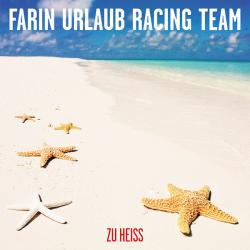 "Cover der CD ""Zu heiss""; der Band ""Farin Urlaub Racing Team"""
