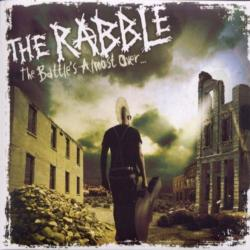 "Cover der CD ""The battle´s almost over""; der Band ""The Rabble"""