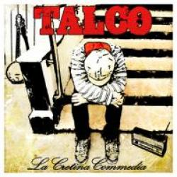 "Cover der CD ""la cretina commedia""; der Band ""Talco"""