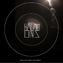 """Cover der CD """"Halations""""; der Band """"Black as Chalk"""""""